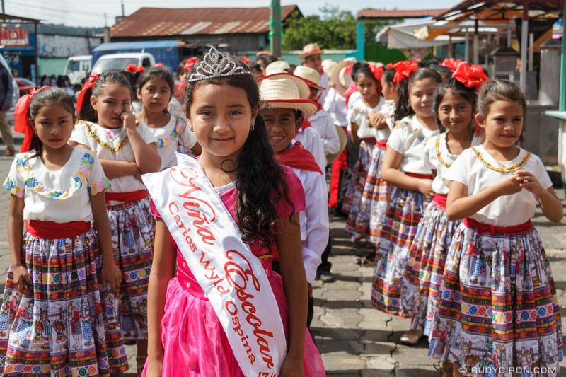 Rudy Giron: Antigua Guatemala &emdash; School Parades for Independence Day Celebrations