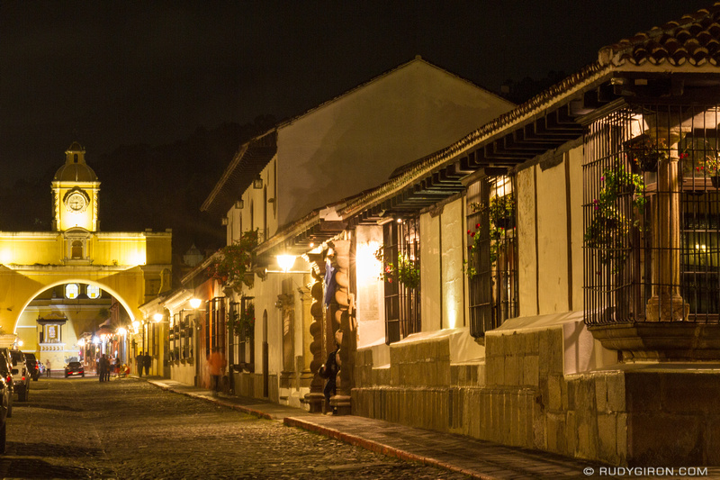 Rudy Giron: Antigua Guatemala &emdash; Night Photography Walks in Antigua Guatemala