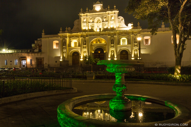 Rudy Giron: Antigua Guatemala &emdash; Dramatic Lighting of Parroquia de San Jose In Antigua Guatemala-2