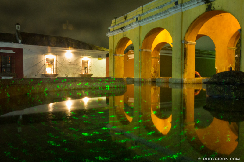 Rudy Giron: Antigua Guatemala &emdash; Light Painting at Tanque de La Union