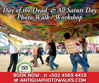 Antigua Photo Walks - Day of the Dead Photography Workshop and Photo Walk with Photographer Rudy Giron