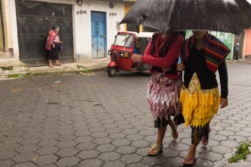 Rudy Giron: Antigua Guatemala &emdash; Is it dry yet in Guatemala