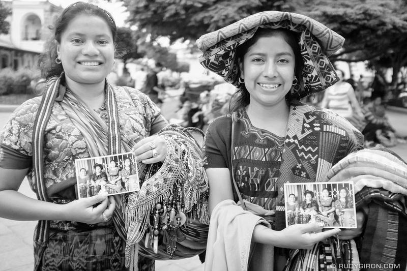 Rudy Giron: Antigua Guatemala &emdash; Portraits as Gifts — Maria y Candy