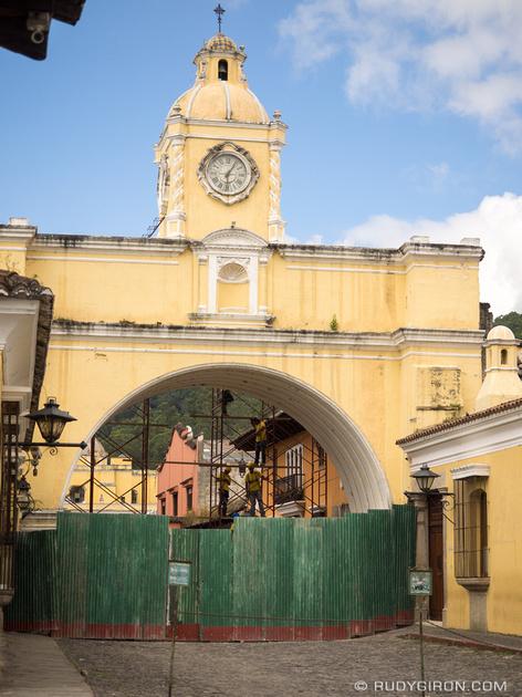Rudy Giron: Antigua Guatemala &emdash; Calle del Arco Antigua Guatemala