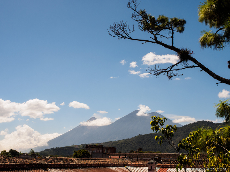Rudy Giron: Antigua Guatemala &emdash; Terraces 2 of Antigua Guatemala