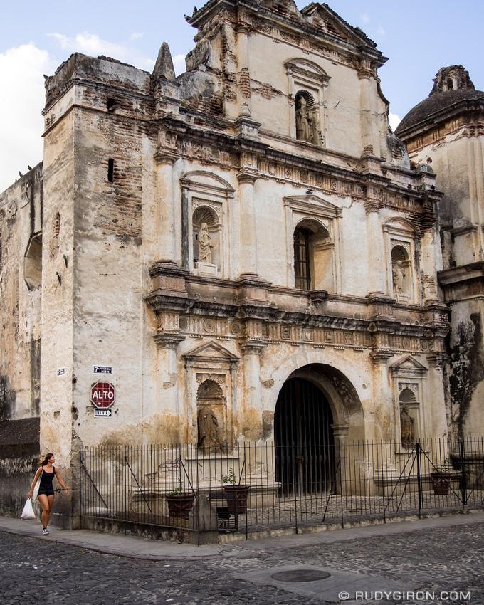 Rudy Giron: Antigua Guatemala &emdash; Street Photography — Ruins of San Agustin, Antigua Guatemala