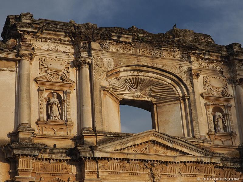 Rudy Giron: Antigua Guatemala &emdash; Ruins of Convento de Santa Teresa