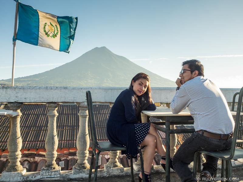 Rudy Giron: Antigua Guatemala &emdash; Sunset Watching Season in Antigua Guatemala