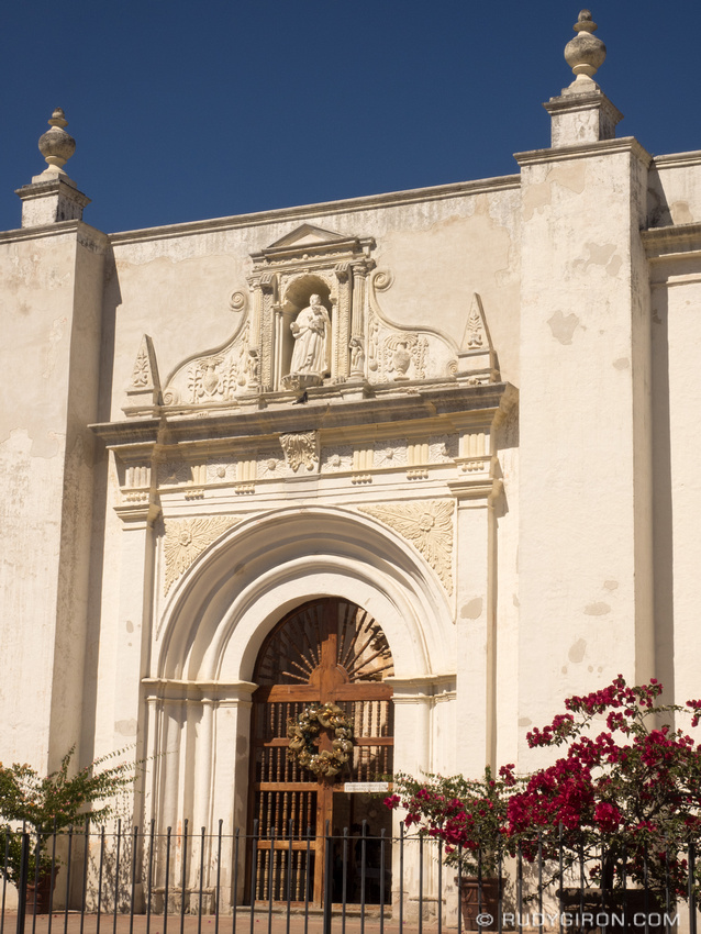 Rudy Giron: Antigua Guatemala &emdash; Side door of Ruins of the former Cathedral complex
