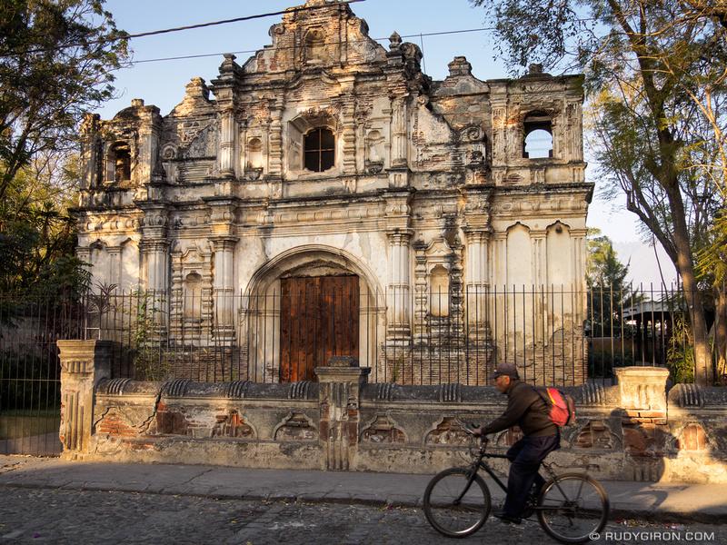 Rudy Giron: Antigua Guatemala &emdash; Ruinas de San José El Viejo