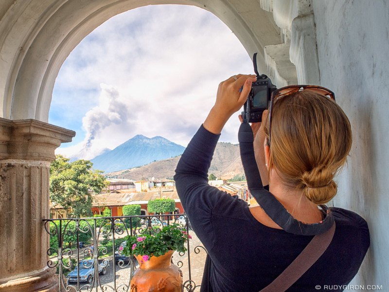 Rudy Giron: Antigua Guatemala &emdash; Best spots to photograph the eruption of Volcan Fuego